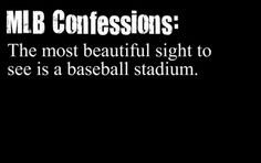 """My Grandson, an absolute """"MLB FREAK"""" would certainly agree. His mission in life is to be able to see a game at every stadium in the U. Baseball Park, Rangers Baseball, Red Sox Baseball, New York Yankees Baseball, Better Baseball, Baseball Mom, Dodgers, Mlb Stadiums, No Crying In Baseball"""