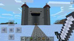 Made a castle on minecraft PE