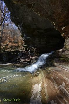 Natural Bridge. It is located on the Lost Valley trail in the Buffalo National River Park near Ponca, Arkansas.