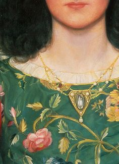 fawnvelveteen: Melody by Kate Elizabeth Bunce, 1895 (detail)