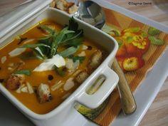 Pikantní krémová dýňová polévka - obrázek