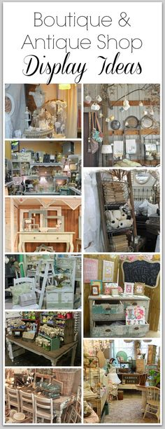 Boutique & Antique Shop Display Ideas