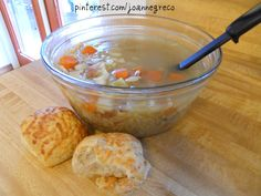 January is National Soup Month  #soup #foodie chicken noodle soup