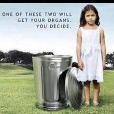 Organ Donation... Just do it!  Pretty powerful ad, 'eh?
