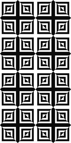 Seamless monochrome square pattern