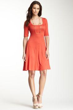 Scoop Neck Dress by 24/7 Comfort on @HauteLook