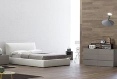 Luxurious contemporary beds that personalize bedroom decorating ideas are modern design trends that blend chic with functionality and comfort