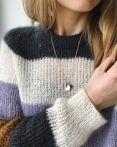 Ravelry: Sequence Sweater pattern by PetiteKnit Sweater Knitting Patterns, Knitting Designs, Knit Patterns, Knitwear, Knit Crochet, Cute Outfits, My Style, Sweaters, How To Wear