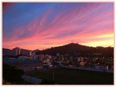 Entardecer no Morro do Cruzeiro