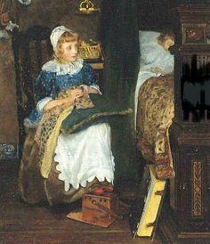 L.T. Alma-Tadema - In Good Hands