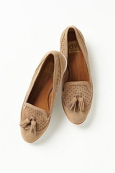 Macao Loafers  #anthropologie in yellow!