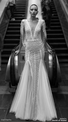 Lior Charchy 2019 Wedding Dresses - World of Bridal Western Wedding Dresses, Boho Wedding Dress, Bridal Dresses, Bridesmaid Gowns, Bridal Collection, Dress Collection, Sheath Wedding Gown, Mermaid Dresses, Couture Dresses
