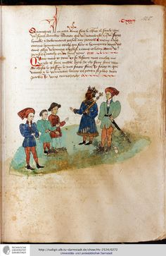 Hs-2524: Isaie Le Triste: Französischer Prosaroman (1449)