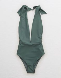 23eb8202c27f6 Aerie Tie Strap One Piece Swimsuit by American Eagle Outfitters | One piece,  love Monokini