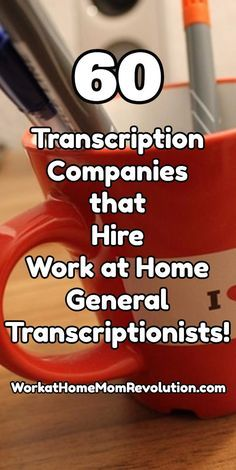 60 Transcription Companies that Hire Work at Home General Transcriptionists! List of 60 general transcription companies that hire work at home general transcriptionists! If you're interested in starting your own home-based general transcription business, Work From Home Moms, Make Money From Home, Way To Make Money, Money Fast, Work For Hire, Companies Hiring, Work From Home Opportunities, Transcription, Online Work