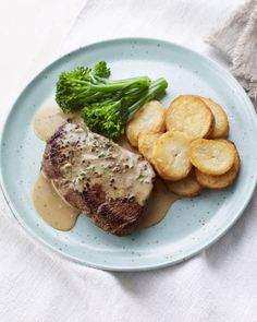 A classic peppercorn sauce everyone should know for steak night! Thanks, Mary!