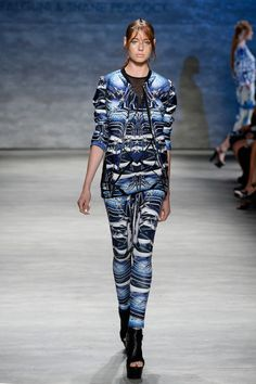 Falguni and Shane Peacock spring 2015 collection. Photo: Fernanda Calfat/Getty Images for Mercedes-Benz Fashion Week