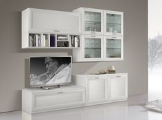 Contemporary Wall Unit JA-1076 | Made in Italy - $2,759.00