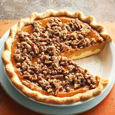 Make our Paradise Pumpkin Pie this year! More pumpkin recipes: http://www.bhg.com/thanksgiving/recipes/pumpkin-recipes/