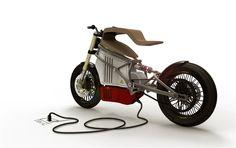 E-Raw: Passado presente e futuro reunidos numa única moto - MotoNews - Andar de Moto