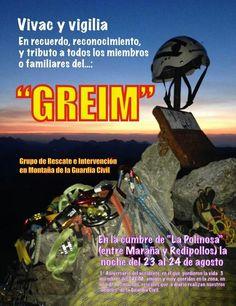 Homenaje a los miembros del GREIM fallecidos en el Mampodre hace un año. #vivac #montaña #picosdeeuropa