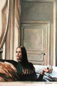 """Saatchi Art Artist Thomas Saliot; Painting, """"Places des Vosges"""" #art"""