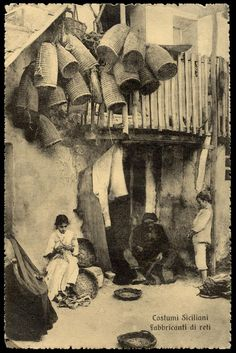 Memorie, Southern Italy, Messina, Catania, Family History, Black And White, Photography, Painting, Vintage