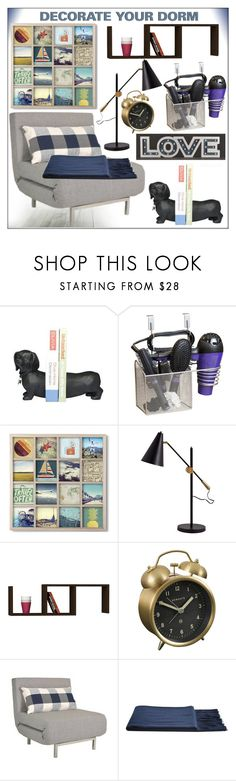 """""""Decorate Your Dorm!"""" by whirlypath ❤ liked on Polyvore featuring interior, interiors, interior design, home, home decor, interior decorating, Newgate and bedroom"""