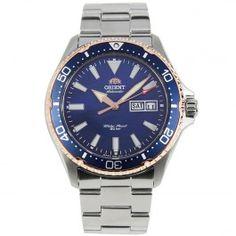 RA-AA0007A Orient Mako III Mens Automatic Watch Orient Watch, Automatic Watches For Men, Casual Watches, Bracelet Watch, Accessories, Watch, Ornament
