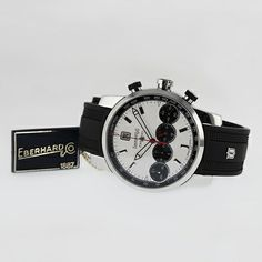 Eberhard & Co., Chrono 4 Grand Taille, photographed by Pamela Ossola, offered by Georg Königbauer - Watches For Life