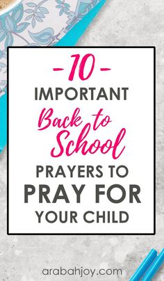 10 Important Scriptures to Pray Over Your Kids