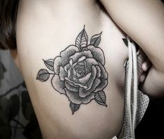 I love black and white tattoos when its just line work to make up the values.