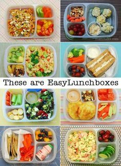 TONS of easy to pack lunches for school and work with EasyLunchboxes and MOMables ketodiet lo TONS of easy to pack lunches for school and work with EasyLunchboxes and MOMables ketodiet lo weight loss smoothies nbsp hellip Lunch To Go, Lunch Meal Prep, Healthy Meal Prep, Healthy Snacks, Healthy Recipes, Healthy Kids, Lunch Snacks, Lunch Recipes, Baby Food Recipes