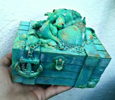 Altered Box Seashells