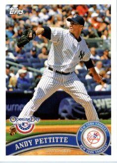 2011 Topps Opening Day Baseball Card #217 Andy Pettitte - New York Yankees - MLB…