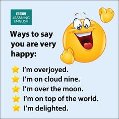 Ways to say you are Very Happy