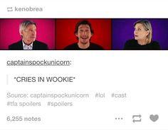 *Cries in Wookiee*