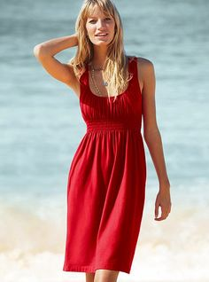 Bawełniana sukienka VICTORIA'S SECRET XS 34 S 36