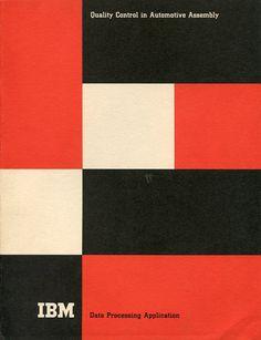 IBM Quality Control Brochure by Paul Rand