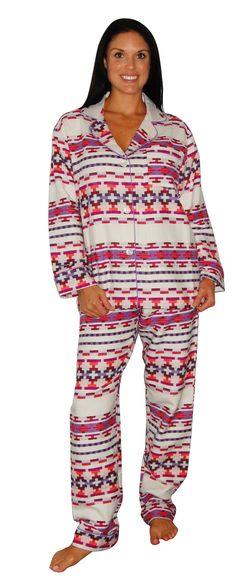 Bedhead  Lavender Santa Fe Flannel Classic Pajama