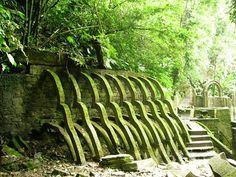 Las Pozas: Surreal Concrete Sculpture Garden in the Jungle of... #weburbanist #arts #street_art
