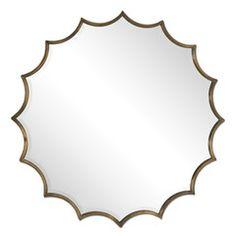 San Mariano Metal Mirror