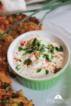 Dip jogurtowo - ziołowy | Tysia Gotuje blog kulinarny