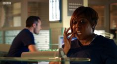 Holby City Mo (Chizzy Akudolu) is eating for two. Holby City, Deck The Halls, Vows, Drama, Actresses, Fictional Characters, Female Actresses, Dramas, Christmas Home Decorating