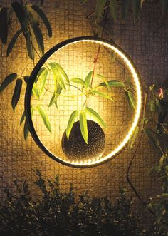 LED direct-indirect light wall lamp Hydrolux Collection by Le Deun Luminaires