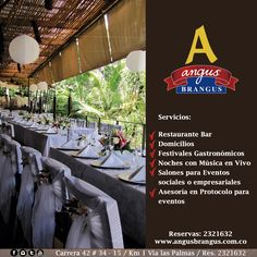 Angus Brangus es un restaurante con portafolio de servicios completos y variados. Conoce más acerca de nosotros en: www.angusbrangus.com.co .   #AngusBrangus #restaurantes #medellín #servicios #restaurantesrecomendados