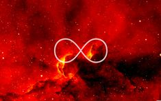 ∞ Red Infinity Wallpaper, Red