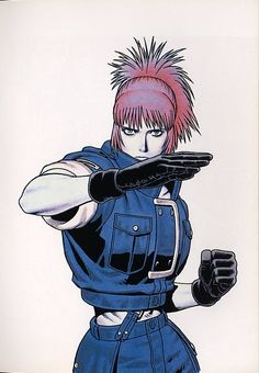 Comic Character, Game Character, Character Concept, Concept Art, Character Design, Art Of Fighting, Fighting Games, Snk King Of Fighters, Arte Peculiar