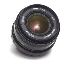 Vivitar 24mm F2.8 Wide Angle Prime LENS Nikon F Ai-S Fit Manual Focus FX Japan by 7Cameras on Etsy
