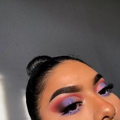Purple eyeshadow is a must 💜 Makeup Goals, Makeup Inspo, Makeup Art, Makeup Inspiration, Hair Makeup, Makeup Ideas, Baddie Makeup, Purple Eyeshadow, Eyeshadow Looks